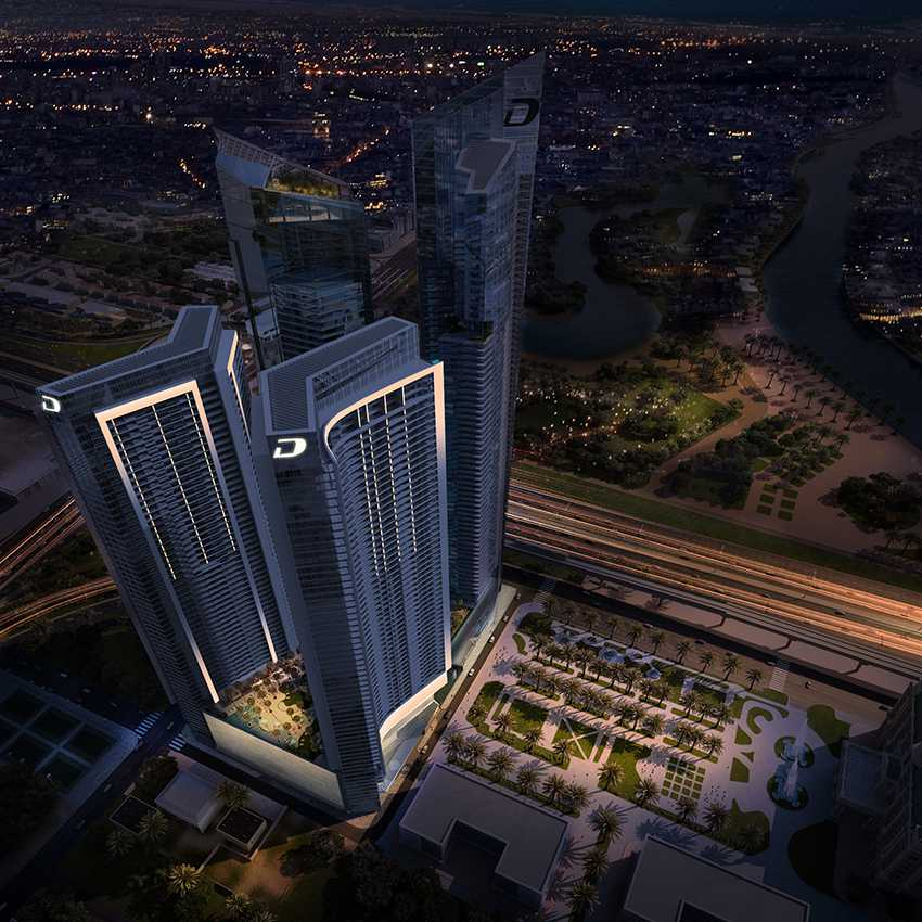 DAMAC – AYKON City Project