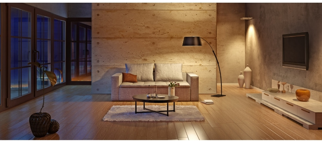 LED lighting in the living room : Light for life and well-being Ideas